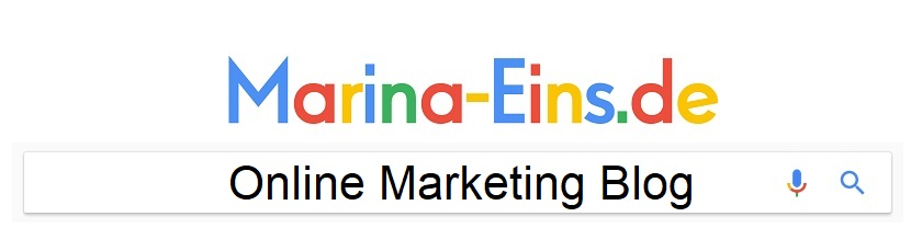 Online Marketing Blog | Marina-Eins.de